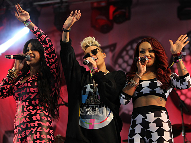Stooshe - Bestival, 09/09/12.